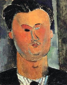 'Pierre Reverdy 1915' by Modigliani